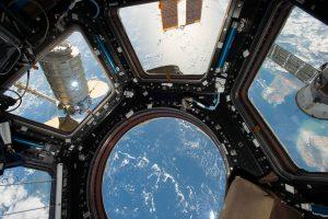 VISIÓN VENTANA ISS. NASA.