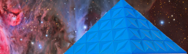La pirámide del Planetario