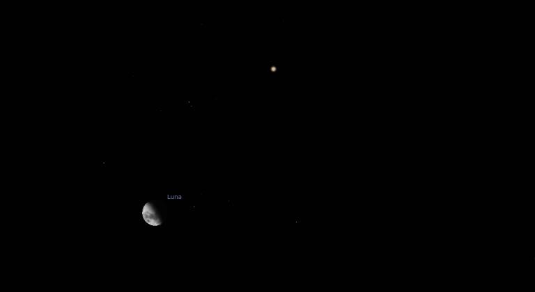 ¡Este lunes a fotografiar la Luna!