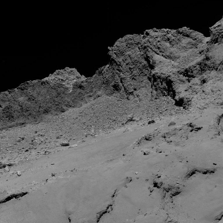 El adiós de la Rosetta