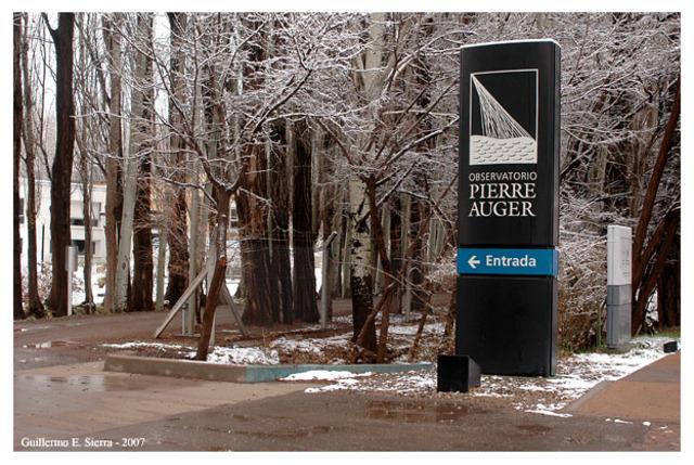 Entrada Observatorio Pierre Auger.