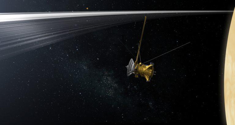 Algunos hitos científicos de la misión Cassini.