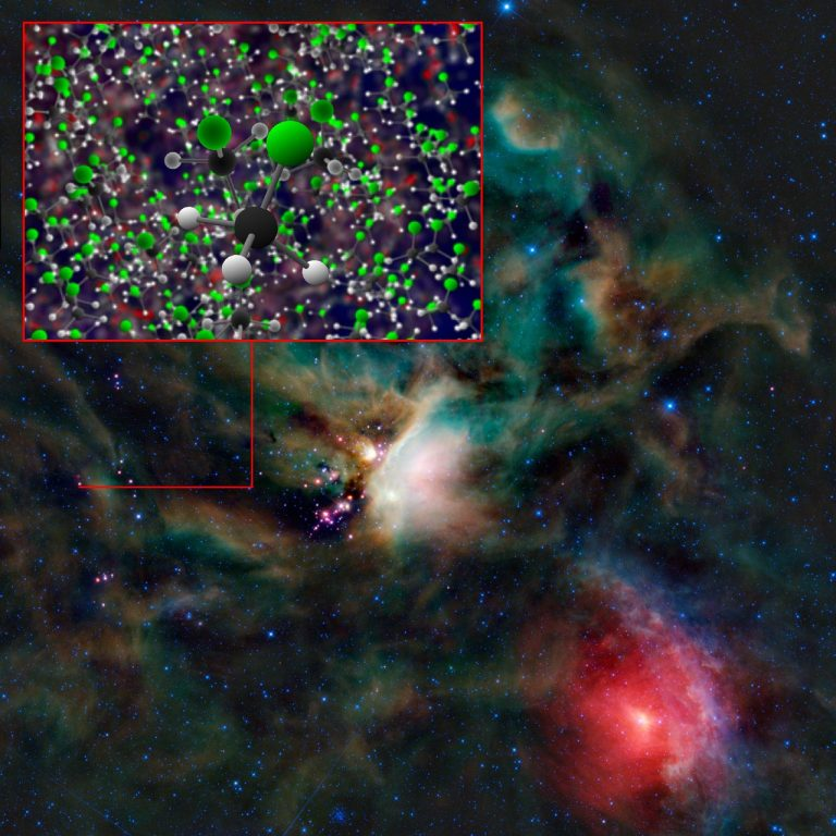 Se detectan por primera vez organohalógenos en el espacio.