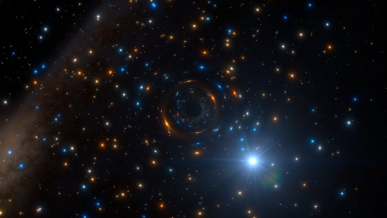 Se detectó por primera vez un agujero negro inactivo dentro de un cúmulo globular.