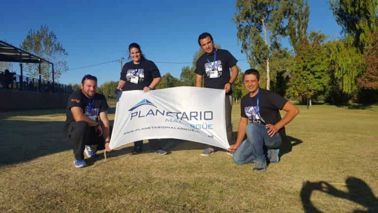 El Planetario Malargüe fue parte de la Star Party 2018