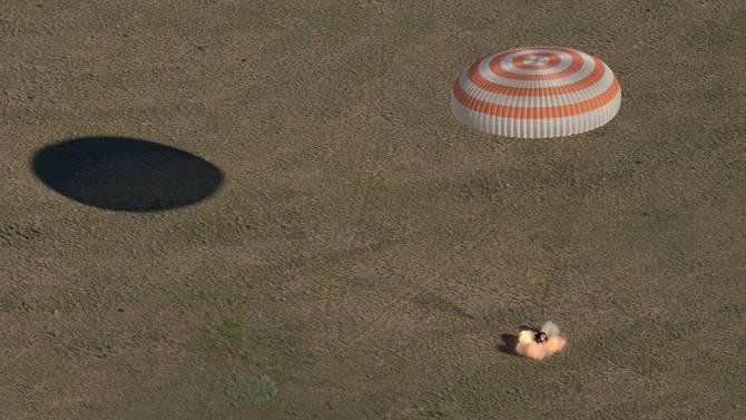 [VIDEO] Regresa a la Tierra la tripulación de la Soyuz MS-07