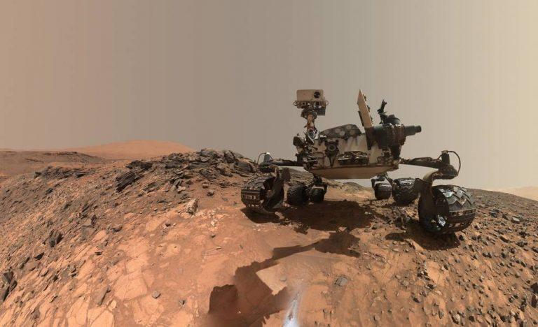 Curiosity encontrando moléculas orgánicas…