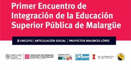 """Mañana comienza el """"Primer Encuentro de Integración de la Educación Superior Pública"""""""
