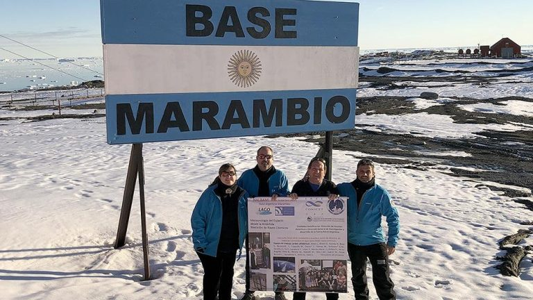 En la Antártida se instalará el primer detector argentino de rayos cósmicos