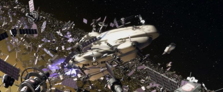 Rusia avanza en la lucha contra la basura espacial.