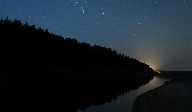 Reflejos del cazador. Una fotografía increíble de Orión. [IMAGEN].