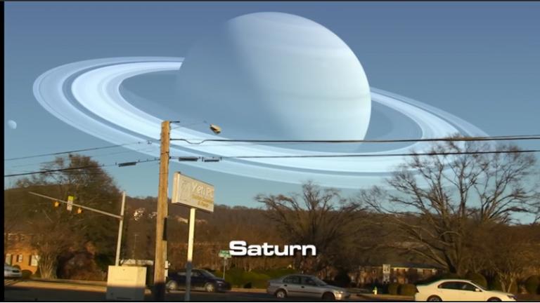 ¿Que pasaría si los planetas del Sistema Solar reemplazaran a la Luna?  [VIDEO].