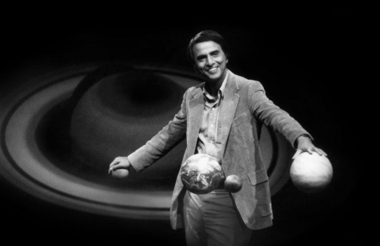Carl Sagan, a 23 años de su muerte.