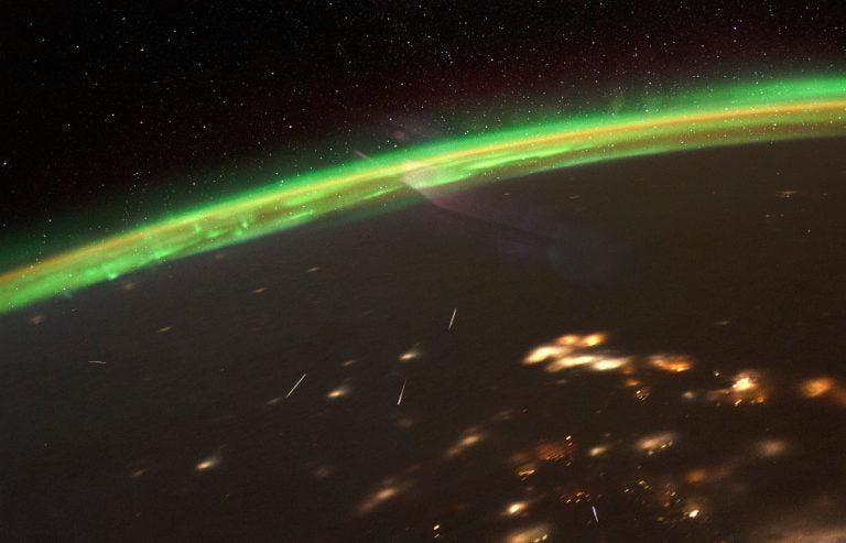 Un vistazo a las Cuadránticas desde la ISS.
