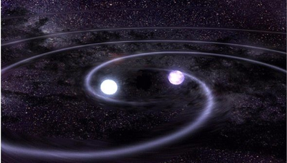 El Radiotelescopio ALMA capta una batalla estelar.