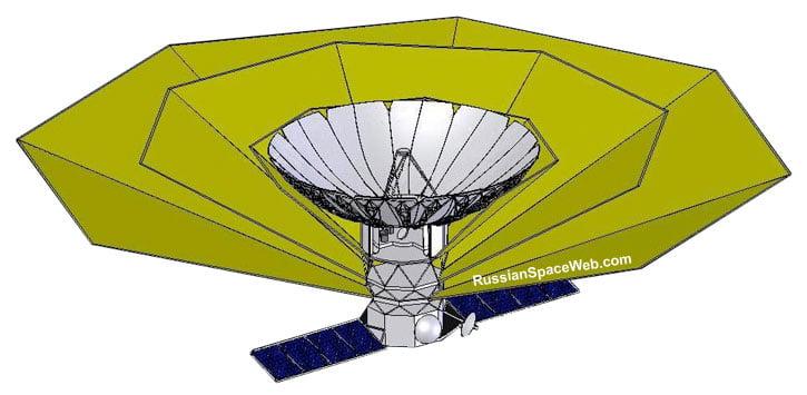 Spektr-M, el telescopio ruso para buscar vida en el espacio.