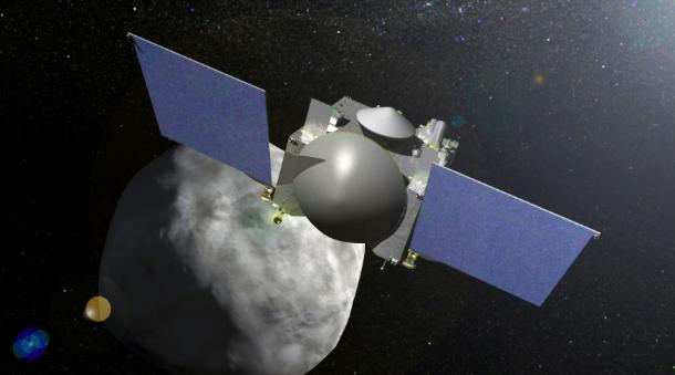 NASA utilizara las rocas de Bennu como balizas para su primer asteroizaje.
