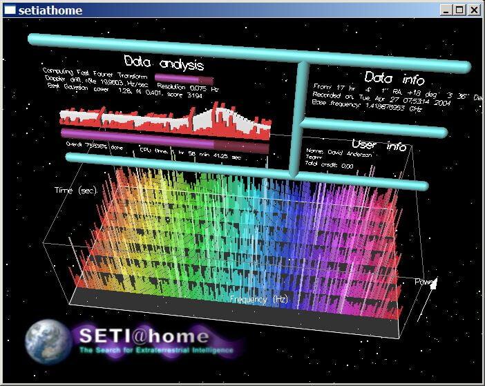 El programa SETI@home deja de buscar inteligencia en el cosmos.