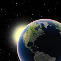 Observando la Tierra como un planeta en tránsito.