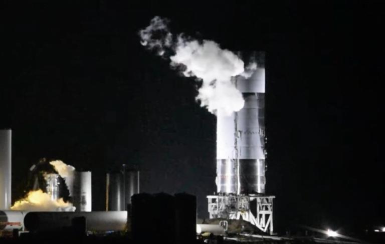 ¡Un Avance! Starship SN4 pasa su prueba criogénica y no explota.