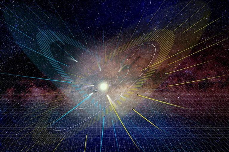 Cometas revelan un segundo plano de alineación del Sistema Solar.