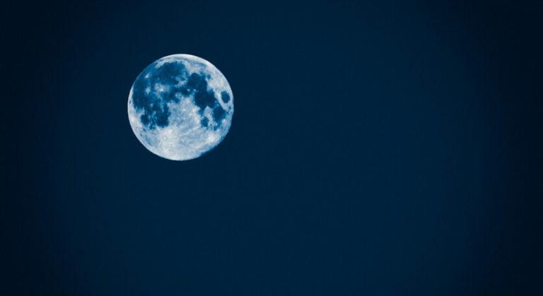 ¿Luna Azul? No literalmente.