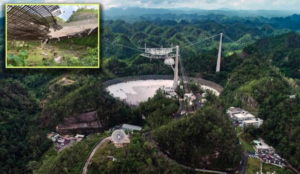 ¿Se reconsiderará el desmantelamiento del radiotelescopio de Arecibo?