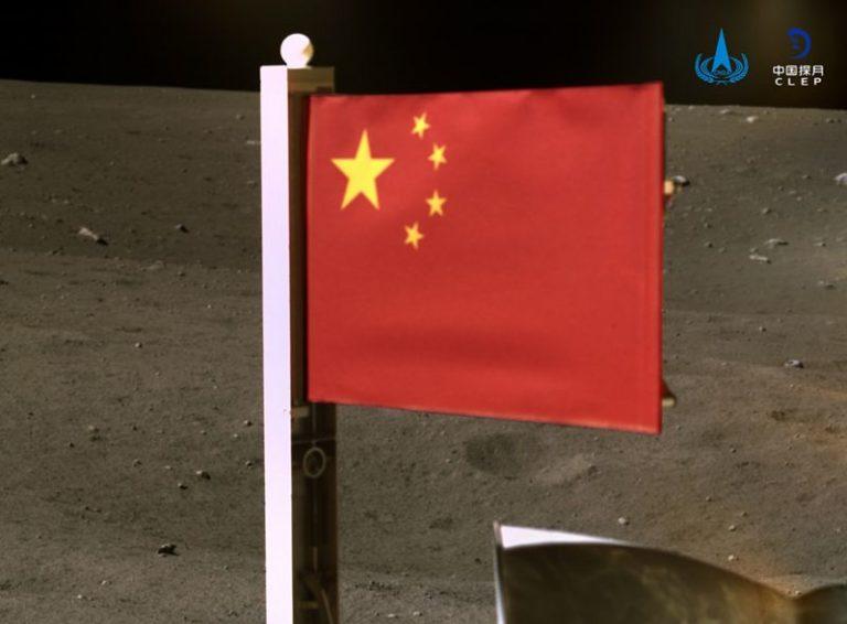 China: el segundo país en plantar su bandera en la Luna.