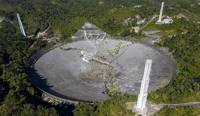 ¿Existe la posibilidad de reconstruir el Radiotelescopio de Arecibo?