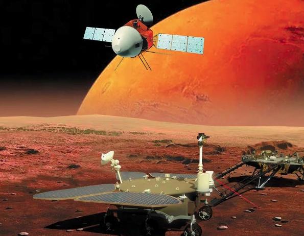 Votación para nombrar el primer rover chino que llegará a Marte