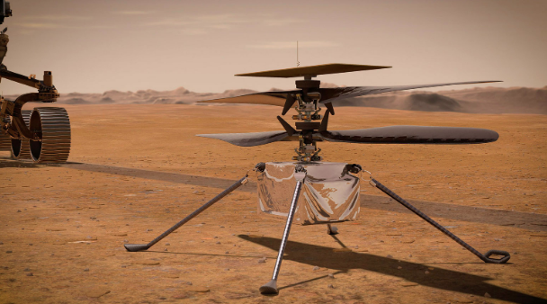 "Ingenuity ""logro llamar"" desde Marte."